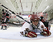 Steven Whitney (BC - 21), Chris Rawlings (NU - 37) - The Boston College Eagles defeated the Northeastern University Huskies 5-1 on Saturday, November 7, 2009, at Conte Forum in Chestnut Hill, Massachusetts.