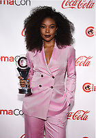 "LAS VEGAS, NV - APRIL 26: Recipient of the ""Breakthrough Producer of the Year"", Gabrielle Union attends the CinemaCon Big Screen Achievement Awards at CinemaCon 2018 at The Colosseum at Caesars Palace on April 26, 2018 in Las Vegas, Nevada. (Photo by Frank Micelotta/PictureGroup)"