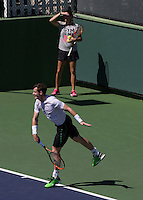 ANDY MURRAY (GBR)<br /> <br /> Tennis - BNP PA mier -  Indian Wells Tennis Garden - Indian Wells - California - United States of America  - 9 March 2015. <br /> &copy; AMN IMAGES
