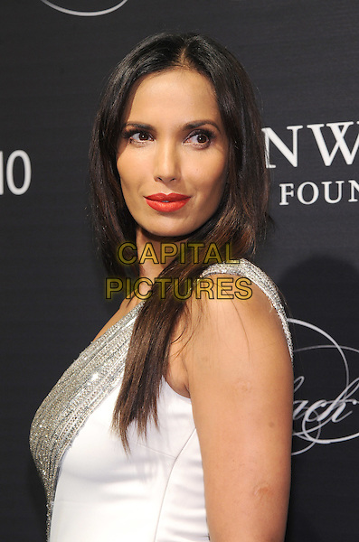 NEW YORK, NY - NOVEMBER 05: Padma Lakshmi attends the 2015 'Keep A Child Alive' Black Ball at Hammerstein Ballroom on November 5, 2015 in New York City.<br /> CAP/MPI/STV<br /> &copy;STV/MPI/Capital Pictures