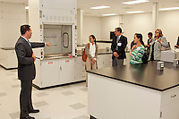 Prolacta executive gives tour of facility at Grand Opening