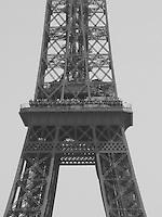 The Eiffel Tower - B&W