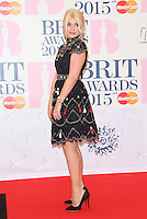 Holly Willoughby arriving at The Brit Awards 2015 (Brits) held at the O2 - Arrivals, London. 25/02/2015 Picture by: James Smith / Featureflash