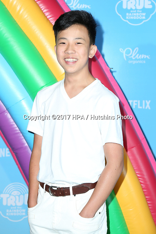 LOS ANGELES - AUG 10:  Dante Zee at the True and the Rainbow Kingdom Series LA Premiere at the Pacific Theater At The Grove on August 10, 2017 in Los Angeles, CA