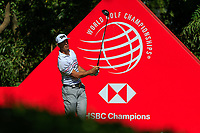 Billy Horschel (USA) on the 9th tee during the final round at the WGC HSBC Champions 2018, Sheshan Golf CLub, Shanghai, China. 28/10/2018.<br /> Picture Fran Caffrey / Golffile.ie<br /> <br /> All photo usage must carry mandatory copyright credit (&copy; Golffile | Fran Caffrey)