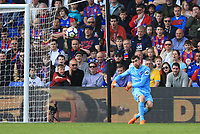 Matthew Ryan of Brighton & Hove Albion clears his lines during Crystal Palace vs Brighton & Hove Albion, Premier League Football at Selhurst Park on 14th April 2018
