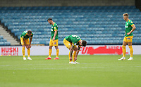 Dejection for Preston after going 1-0 down<br /> <br /> Photographer Rob Newell/CameraSport<br /> <br /> The EFL Sky Bet Championship - Millwall v Preston North End - Saturday 3rd August 2019 - The Den - London<br /> <br /> World Copyright © 2019 CameraSport. All rights reserved. 43 Linden Ave. Countesthorpe. Leicester. England. LE8 5PG - Tel: +44 (0) 116 277 4147 - admin@camerasport.com - www.camerasport.com