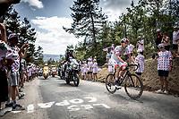 Rui Costa (POR/UAE) up the Mur d'Aurec-sur-Loire (3.2km at 10.8%)<br /> <br /> Stage 9: Saint-Étienne to Brioude (170km)<br /> 106th Tour de France 2019 (2.UWT)<br /> <br /> ©kramon