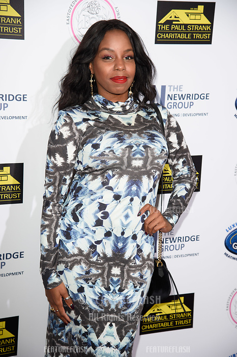 LONDON, UK. September 22, 2018: London Hughes at the Paul Strank Charitable Trust Annual Gala at the Bank of England Club, London.<br /> Picture: Steve Vas/Featureflash