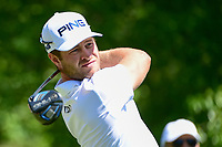 David Lingmerth (SWE) watches his tee shot on 2 during round 2 of the Shell Houston Open, Golf Club of Houston, Houston, Texas, USA. 3/31/2017.<br /> Picture: Golffile | Ken Murray<br /> <br /> <br /> All photo usage must carry mandatory copyright credit (&copy; Golffile | Ken Murray)