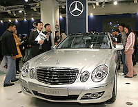 A Mercedes E Class is shown in The Beijing International Automobile Exhibition..19 Nov 2006