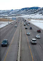 C470 just South of Golden, Colorado, Thursday, January 12, 2012. Golden is voting on weather or not to .complete the beltway around Denver...Photo by Matt Nager