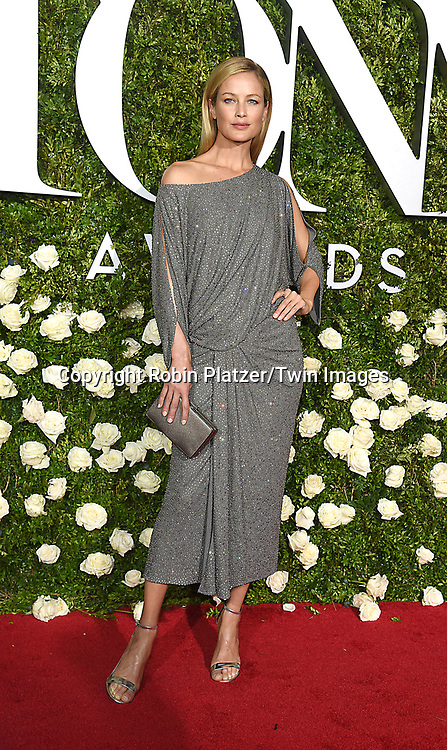 Caroline Murphy attends the 71st Annual  Tony Awards on June 11, 2017 at Radio City Music Hall in New York, New York, USA.<br /> <br /> photo by Robin Platzer/Twin Images<br />  <br /> phone number 212-935-0770