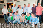 Stag Party : Pat Barry,  Listowel , standing centre pictured on his stag with his friends at the Kingdom Bar, Listowel on Saturday night last.