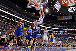 "LOS ANGELES, CA - MARCH 12:  ""One Day One Game"" Blake Griffin #32 of the Los Angeles Clippers dunks against the Golden State Warriors during their NBA Game at the Staples Center  on March 12, 2014 in Los Angeles, California.  (Photo by Donald Miralle for ESPN the Magazine)"