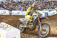 Dylan Long (AUS)<br /> 2018 SX Open - Auckland / SX 1<br /> FIM Oceania Supercross Championships<br /> Mt Smart Stadium / Auckland NZ<br /> Saturday Nov 24th 2018<br /> © Sport the library/ Jeff Crow / AME