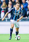 ***BETALBILD***  <br /> Stockholm 2015-05-25 Fotboll Allsvenskan Djurg&aring;rdens IF - AIK :  <br /> Djurg&aring;rdens Kerim Mrabti i aktion under matchen mellan Djurg&aring;rdens IF och AIK <br /> (Foto: Kenta J&ouml;nsson) Nyckelord:  Fotboll Allsvenskan Djurg&aring;rden DIF Tele2 Arena AIK Gnaget portr&auml;tt portrait