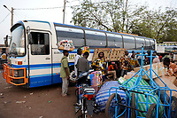 MALI, Bamako , bus stand for long distances buses
