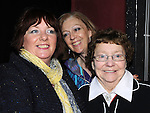 Siobhan and Theresa McNally and Yvonne Carolan pictured at the annual game night at Dolly Mitchell's Rossin Slane. Photo: Colin Bell/pressphotos.ie
