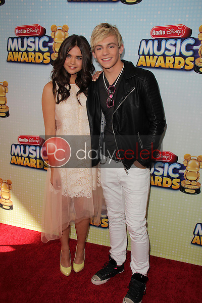 Maia Mitchell, Ross Lynch<br /> at the 2013 Radio Disney Music Awards, Nokia Theater, Los Angeles, CA 04-27-13<br /> David Edwards/Dailyceleb.com 818-249-4998