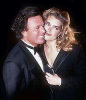 Brooke Shields Julio Iglesias 1986<br /> Photo By Adam Scull/PHOTOlink.net