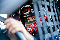 Sep 29, 2019; Madison, IL, USA; NHRA factory stock driver Leah Pritchett during the Midwest Nationals at World Wide Technology Raceway. Mandatory Credit: Mark J. Rebilas-USA TODAY Sports