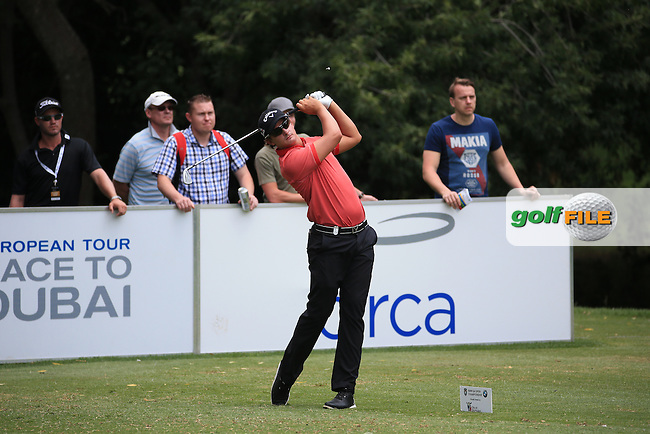 Christiaan Bezuidenhout (RSA) in action during Round Three of the 2016 BMW SA Open hosted by City of Ekurhuleni, played at the Glendower Golf Club, Gauteng, Johannesburg, South Africa.  09/01/2016. Picture: Golffile | David Lloyd<br /> <br /> All photos usage must carry mandatory copyright credit (&copy; Golffile | David Lloyd)