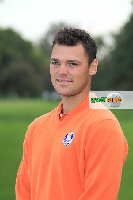 Martin Kaymer (GER) at the European Team photo shoot for the 39th Ryder Cup at Medinah Country Club, Chicago, Illinois 25th September 2012 (Photo Eoin Clarke/www.golffile.ie)