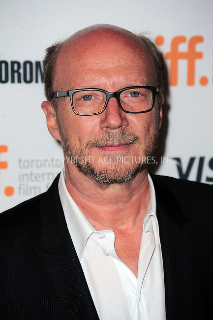 WWW.ACEPIXS.COM<br /> <br /> September 9 2013, Toronto<br /> <br /> Filmmaker Paul Haggis arriving at the 'Third Person' Premiere during the 2013 Toronto International Film Festival at The Elgin on September 9, 2013 in Toronto, Canada.<br /> <br /> By Line: William Bernard/ACE Pictures<br /> <br /> <br /> ACE Pictures, Inc.<br /> tel: 646 769 0430<br /> Email: info@acepixs.com<br /> www.acepixs.com