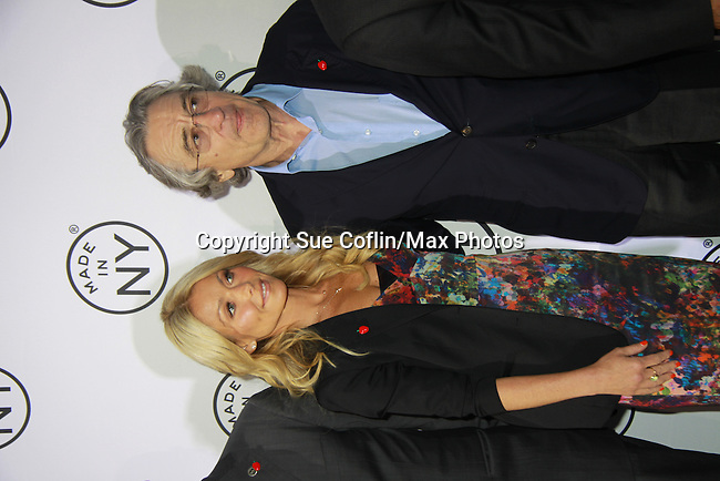 "All My Children's Kelly Ripa and Robert De Niro at the 7th Annual ""Made in NY"" Awards on June 4, 2012 at Gracie Mansion, New York City, New York. (Photo by Sue Coflin/Max Photos)"