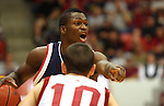Jeremy Pargo (#2), Gonzaga senior guard, had 11 points in a hard fought victory over Washington State in Pullman, Washington, on December 10, 2008, to break a two game losing streak against the Cougars.