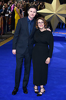 "directors, Ryan Fleck and Anna Boden<br /> arriving for the ""Captain Marvel"" European premiere at the Curzon Mayfair, London<br /> <br /> ©Ash Knotek  D3484  27/02/2019"