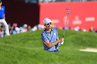 Raffa Cabrera-Bello (Team Europe) on the 9th during the Friday afternoon Fourball at the Ryder Cup, Hazeltine national Golf Club, Chaska, Minnesota, USA.  30/09/2016<br /> Picture: Golffile | Fran Caffrey<br /> <br /> <br /> All photo usage must carry mandatory copyright credit (&copy; Golffile | Fran Caffrey)