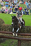 Annabel Wigley riding Black Drum