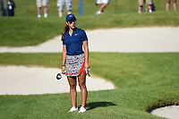 Maria Fassi (MEX) looks back to her ball from the green before her approach shot on 11 during the round 3 of the KPMG Women's PGA Championship, Hazeltine National, Chaska, Minnesota, USA. 6/22/2019.<br /> Picture: Golffile | Ken Murray<br /> <br /> <br /> All photo usage must carry mandatory copyright credit (© Golffile | Ken Murray)