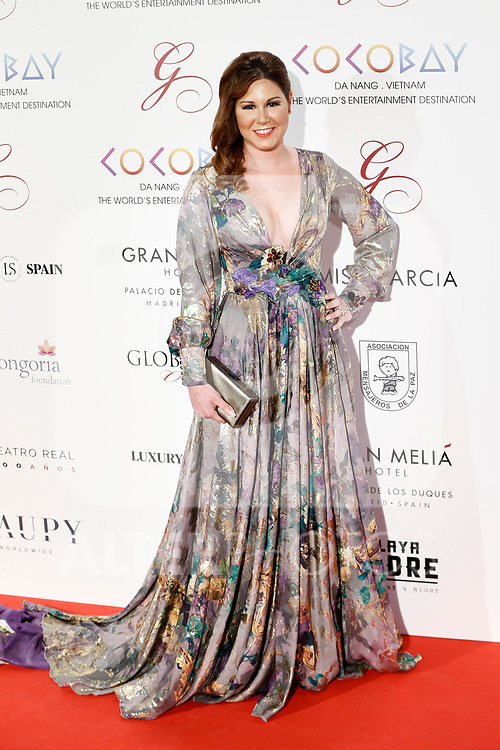 Tamara Macarena Valcarcel  attends the photocall of the second Global Gift gala at the Royal Theater in Madrid, Spain. April 04, 2017. (ALTERPHOTOS / Rodrigo Jimenez)