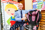 Sergeant Dermot O'Connell Killarney who won a Leading Light award for his work on child car seats awareness