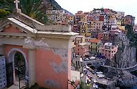 Italy, Liguria, Manarola, Cinque Terre