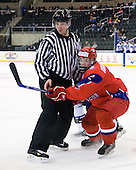 Andrey Ankudinov (Russia - 12) - Russia defeated Finland 4-0 at the Urban Plains Center in Fargo, North Dakota, on Friday, April 17, 2009, in their semi-final match during the 2009 World Under 18 Championship.
