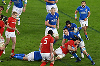 Josh Navidi Wales, Abraham Steyn Italy <br /> Roma 9-02-2019 Stadio Olimpico<br /> Rugby Six Nations tournament 2019  <br /> Italy - Wales <br /> Foto Andrea Staccioli / Resini / Insidefoto