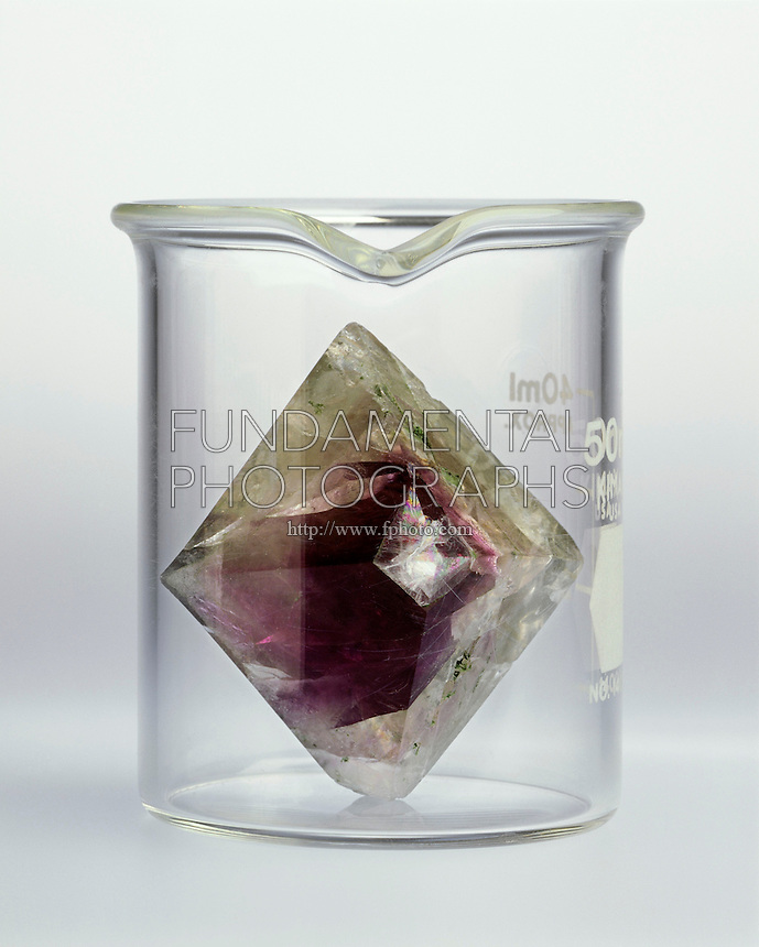 CRYSTAL DOES NOT TAKE OF CONTAINER SHAPE<br />