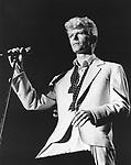 David Bowie 1983..© Chris Walter..