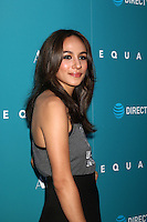 "HOLLYWOOD, CA - JULY 7: Aurora Perrineau at the ""Equals"" Premiere at the ArcLight Theater in Hollywood, California on July 7, 2016. Credit: David Edwards/MediaPunch"