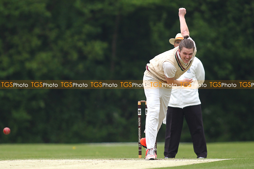 Harry Shirt of South Woodford during South Woodford CC vs Billericay CC, Shepherd Neame Essex League Cup Cricket at Highfield Road on 6th May 2017