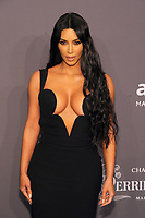 NEW YORK, NY - FEBRUARY 6: KIm Kardashian West arriving at the 21st annual amfAR Gala New York benefit for AIDS research during New York Fashion Week at Cipriani Wall Street in New York City on February 6, 2019. <br /> CAP/MPI/JP<br /> &copy;JP/MPI/Capital Pictures