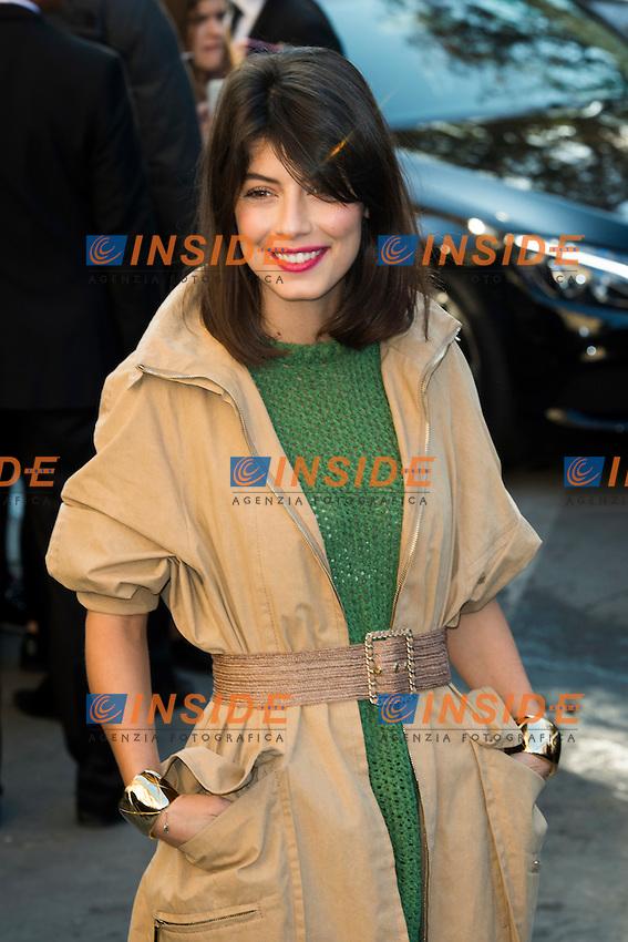 Alessandra Mastronardi Chanel s fashion show arrivals - Paris - 04/10/2016 <br /> Foto Panoramic / Insidefoto