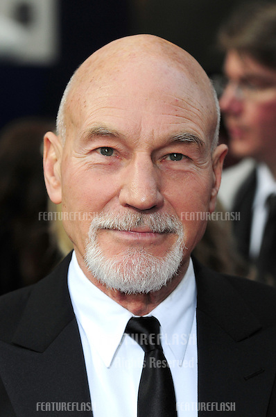 Patrick Stewart arriving for the Olivier Awards 2011 at the Theatre Royal Drury Lane, Covent Garden, London. 13/03/2011 Picture By: Simon Burchell / Featureflash