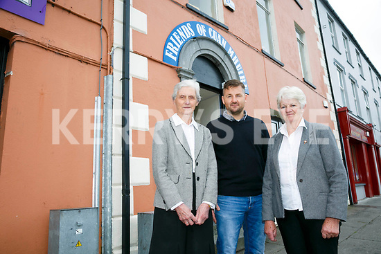 Launching the Table quiz  fundraiser on the 15th June in aid of the  Cuan Mhuire service, High Street Tralee, a New drop in/support service for addicts in Tralee. Pictured volunteers , Sr. Dympna, David O'Sullivan, Breda O'Connor