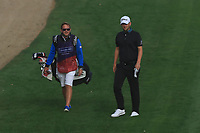 Bernd Wiesberger (AUT) on the 3rd fairway during Round 1 of the Omega Dubai Desert Classic, Emirates Golf Club, Dubai,  United Arab Emirates. 24/01/2019<br /> Picture: Golffile | Thos Caffrey<br /> <br /> <br /> All photo usage must carry mandatory copyright credit (&copy; Golffile | Thos Caffrey)