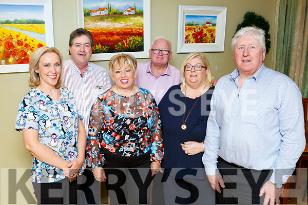 Our Lady of Lourdes Liam McNamara Chairman with l-r: Dawn Goff Assistant Director of Nursing Seamus O'Connor, Eileen Conlon Facility Manager, Ned Conlon Director and Linda Smith Director of Nursing